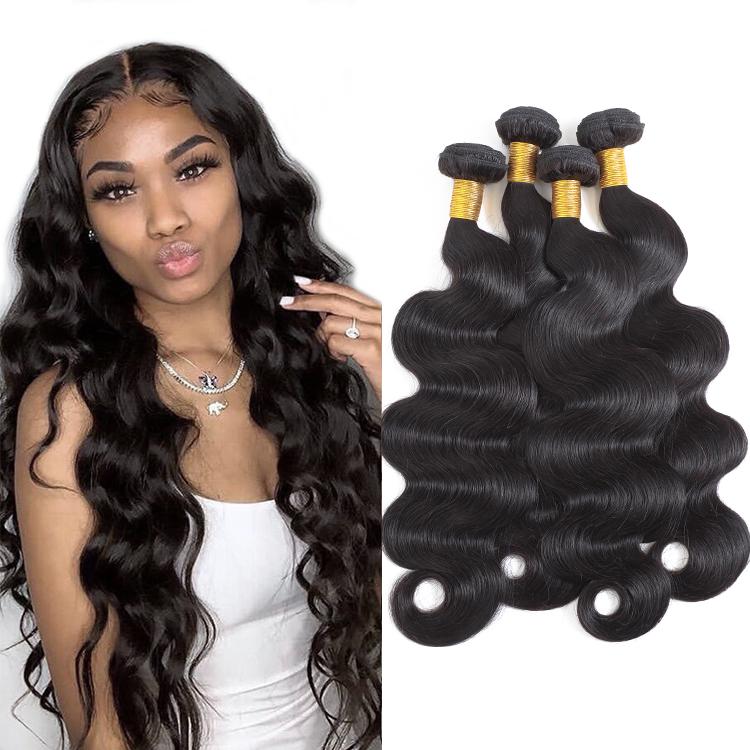 High Quality 1b# Body Wave Virgin Hair Weave