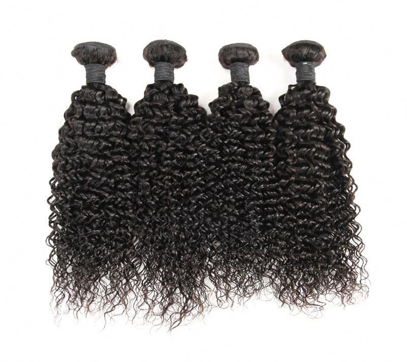 Wholesale Virgin Brazilian kinky Curl Hair Weave With High Quality