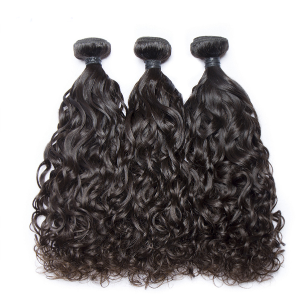 wholesale virgin water wave human hair